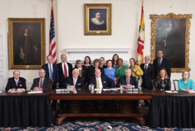 Photo of the Signing of the Pollinator Habitat Law