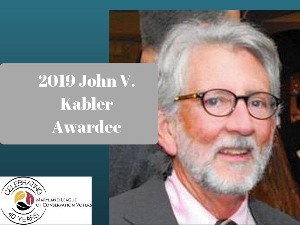 2019 John Kabler Awardee