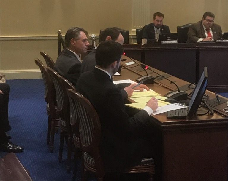 Ramon Palencia-Calvo, our Deputy Director testifies for one of our priority pieces of legislation.