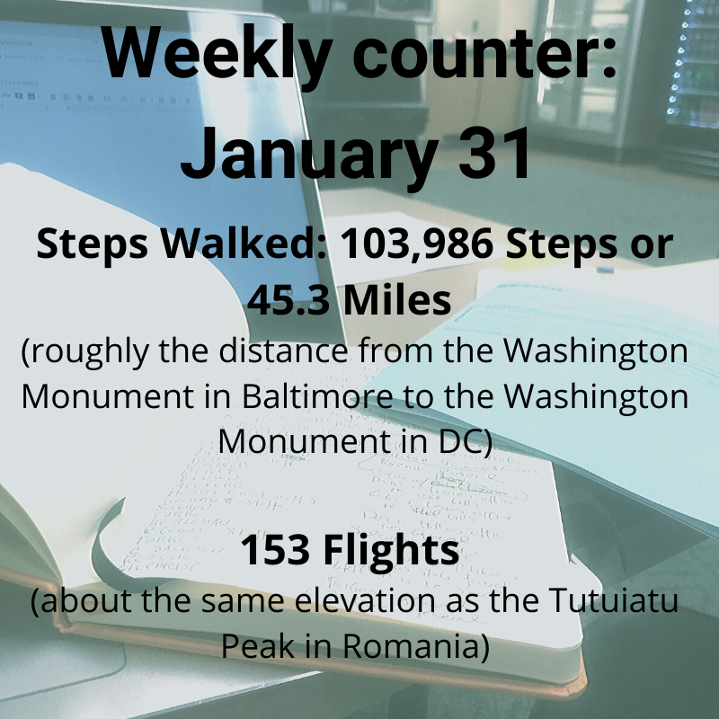 Weekly Counter